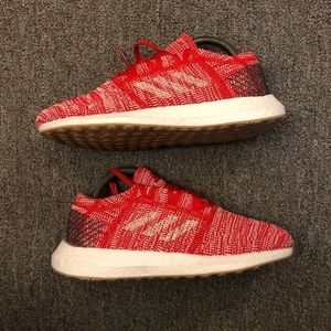 Adidas Pureboost GO J'Active Red Carbon size 6